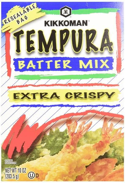 For use in preparation of Japanese Tempura. Extra Crispy Resealable Bag Net Wt. 10 oz.