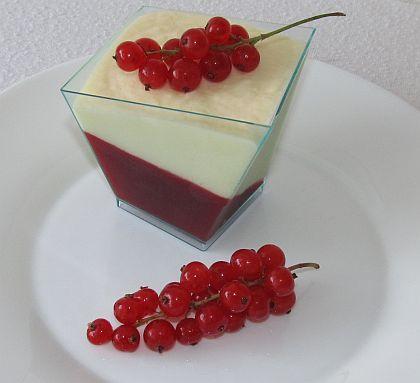 Rybízový dezert s bílou čokoládou :: FOODstyle
