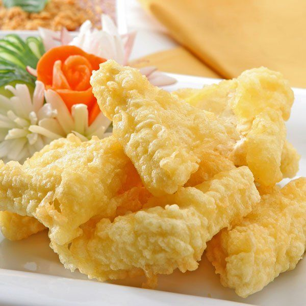 Tofu empanado