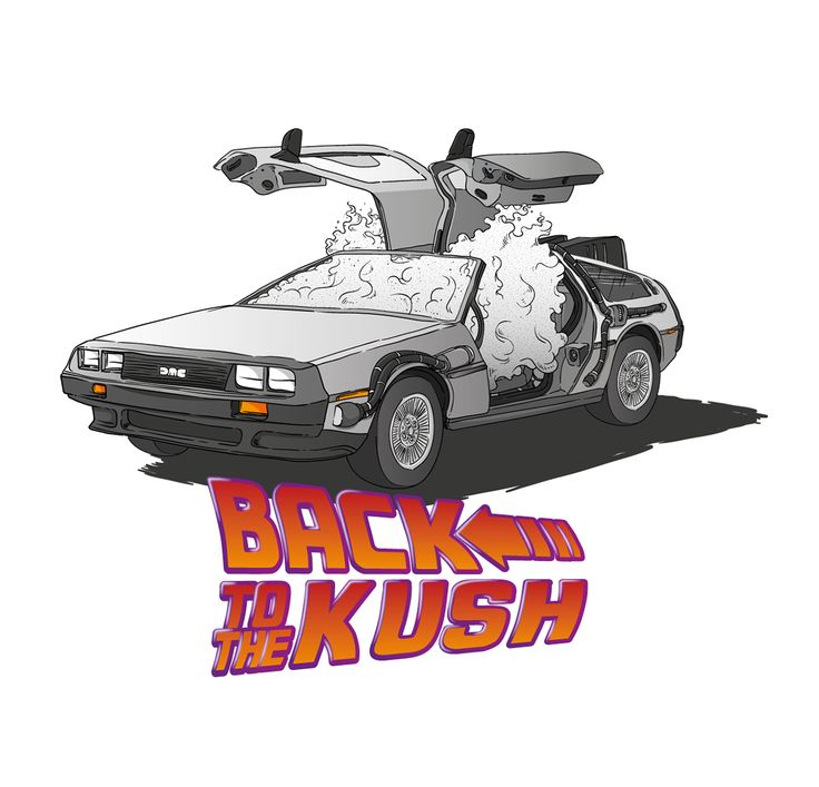 Back to the Kush Tee for Tealer on Behance
