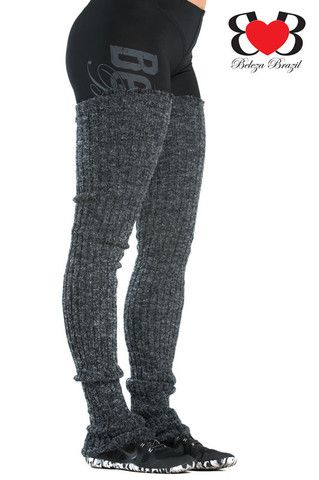 Thigh High Leg Warmers - good to wear just over the knee with tall boots and a short skirt :)