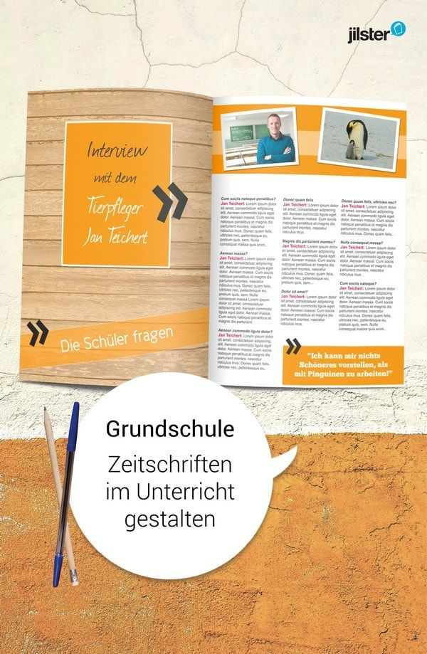 Unterrichtstipp Eigene Zeitschriften In Der Grundschule Gestalten