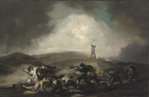 A Scene from the Spanish War of Independence - Francisco de Goya y Lucientes — Google Arts & Culture
