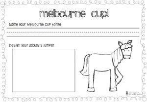 Freebie - Melbourne Cup Writing  Miss Galvin Learns blog