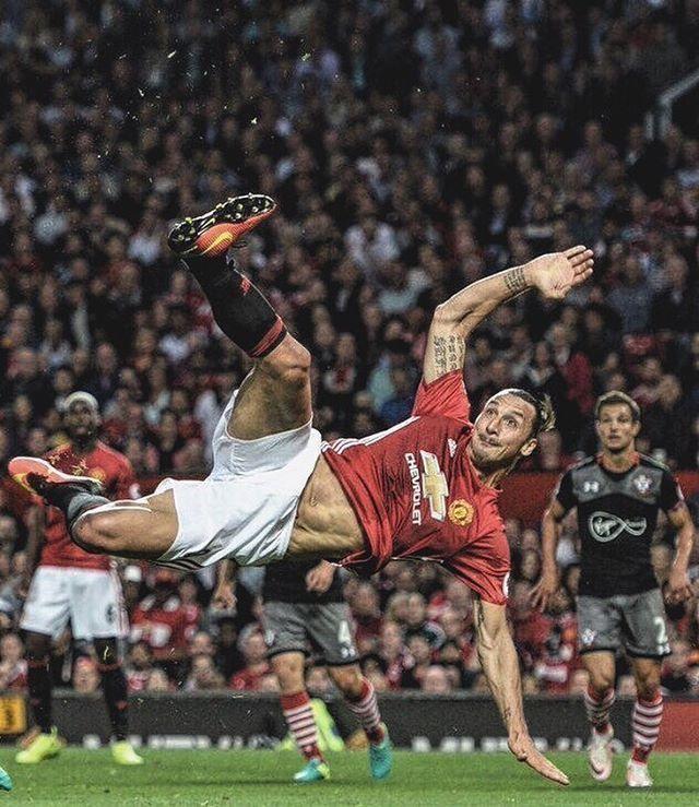 Ibra, the sweden ⚽️💪🏻 #Zlatan