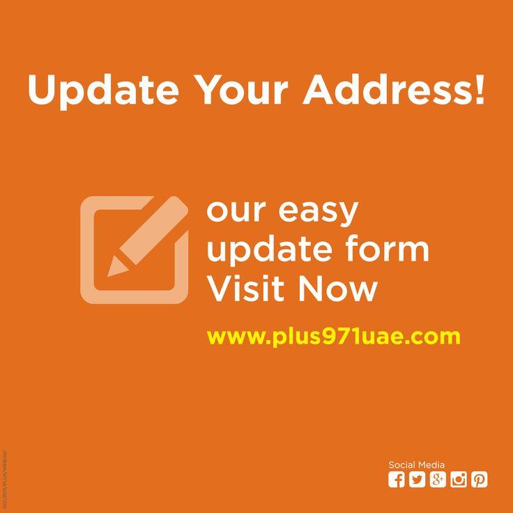 Update Your Address! Visit Now: www.plus971uae.com #travel #tourism #Dubai #directory #travelguide