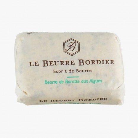 Beurre de baratte aux algues - Le Beurre Bordier