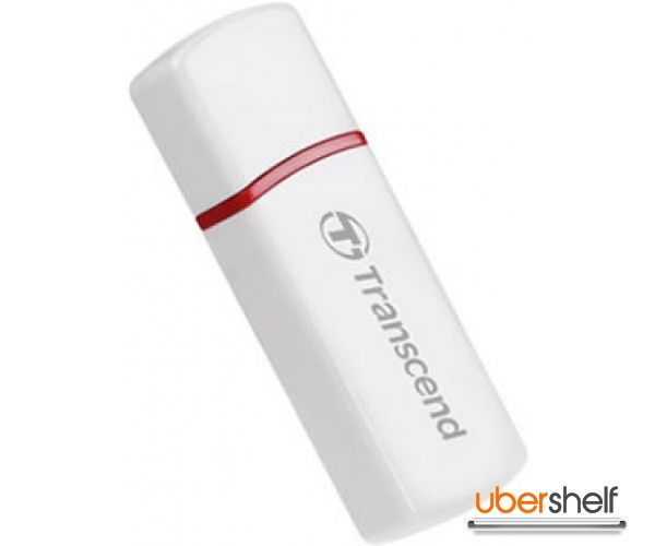 Transcend USB Card Reader RDP6 - White
