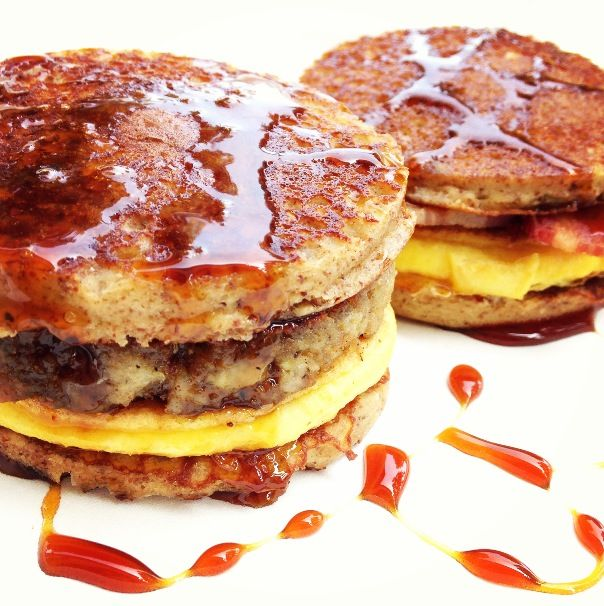 Paleo McGriddles?! I'm Lovin' It!  #justeatrealfood #cleaneatingwithadirtymind