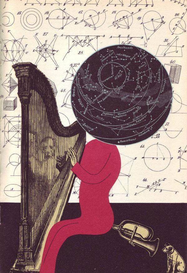 Bohumil Stepan illustrations for Gulliver's Travels, Prague 1968
