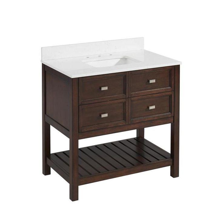 Scott Living Canterbury Mahogany Undermount Single Sink