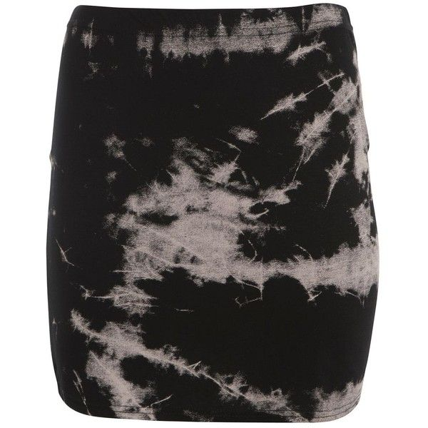 Black Tie Dye Mini Tube Skirt ($3.90) ❤ liked on Polyvore featuring skirts, mini skirts, bottoms, jupes, tie dye skirts, tie dyed skirts, mini skirt, elastic waist skirt and tie-dye skirts