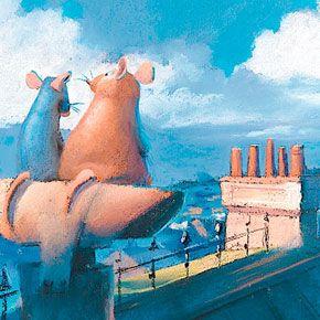 Artes+do+filme+Ratatouille,+da+Pixar