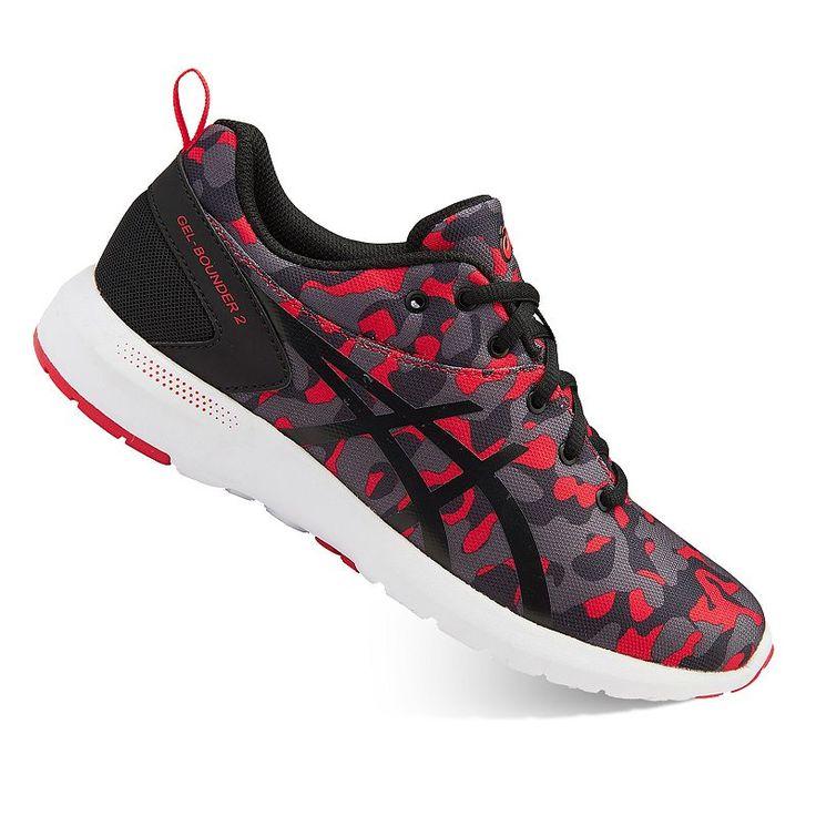 ASICS GEL Bounder 2 Grade School Boys' Running Shoes, Boy's, Light Red