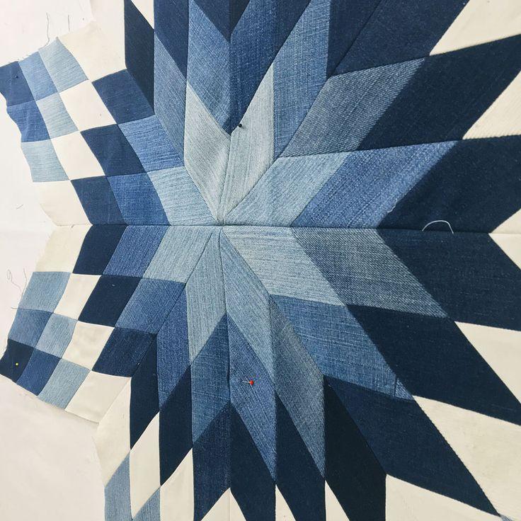 Denim Lone Star #myquiltcouldlivehere - Wise Craft Handmade