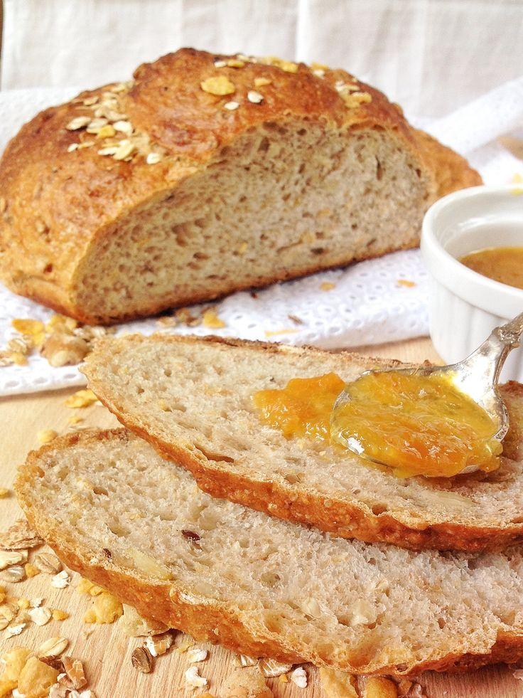 Pan de cereales muesly ideal para el desayuno