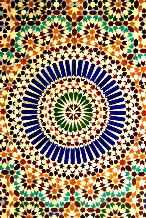 qanafir:  Grand Mosque, Paris (by Vainsang)