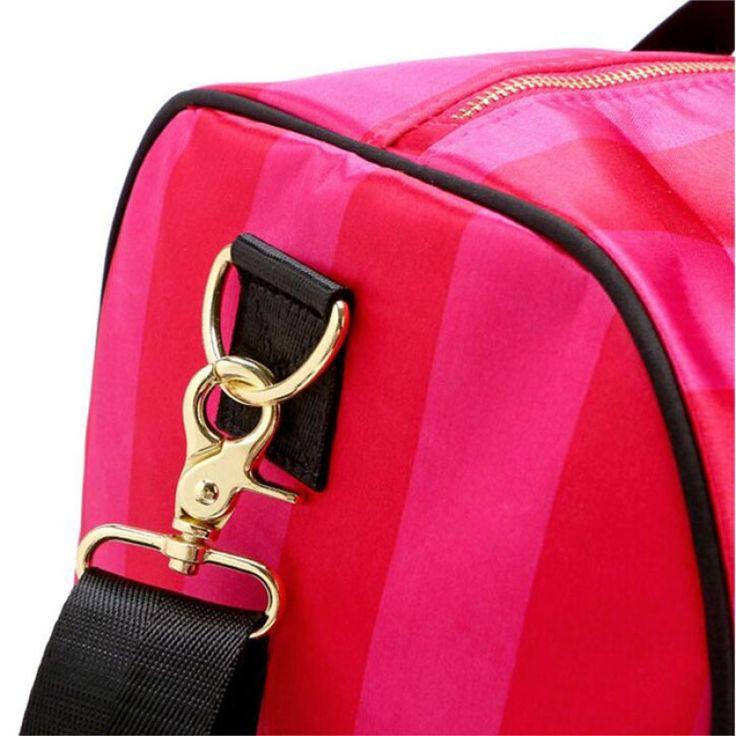 Women's Fashion Portable Pink Large Capacity Handbag Single-shoulder Bag for Outdoor Camping Hiking Travelling Pink