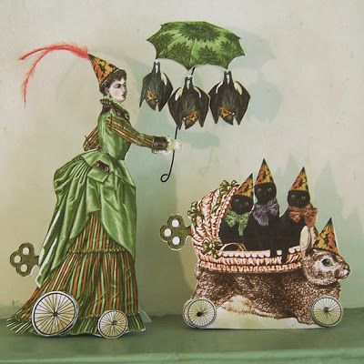 shabby chic halloween decorations printables rhondas originals i heart shabby chic