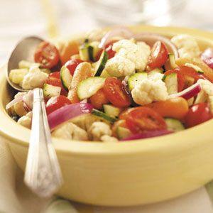 Summer Vegetable Salad: Summer Veggies Salad, Vegetable Salads, Vegetables Salad Recipes, Side Dishes, Vegetable Salad Recipes, Healthy Eating, Healthy Yummy, Summer Vegetables Salad, Summer Salad