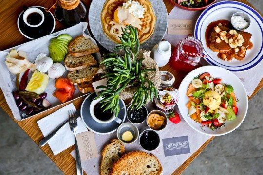 The Sum of Us raw and vegan restaurant in Dubai.