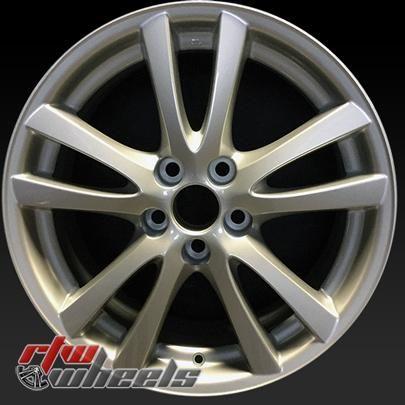"""Lexus IS wheels for sale 2006-2008. 18"""" Silver rims 74189 - http://www.rtwwheels.com/store/shop/18-lexus-is-wheels-for-sale-silver-74189-2/"""