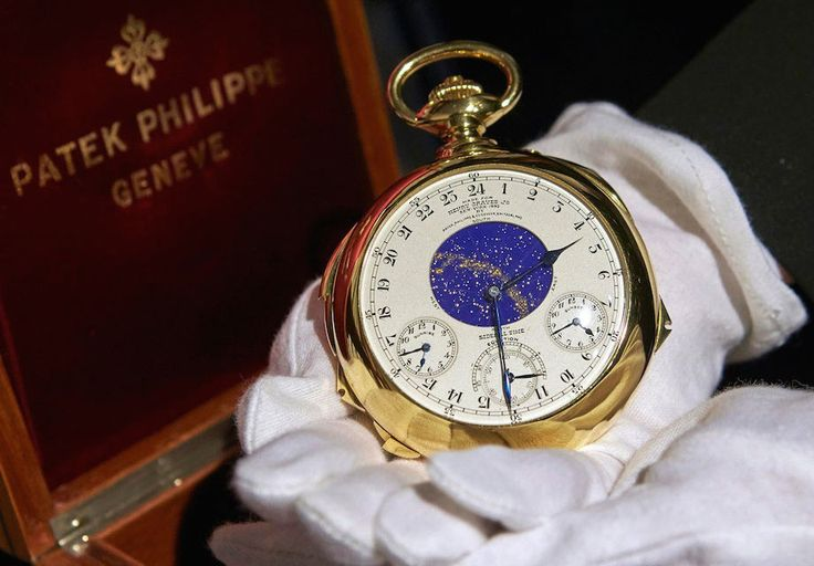 You think you've seen spectacular watches, but this one takes the horological cake. The Patek Philippe Henry Graves Supercomplication is one of the most complic