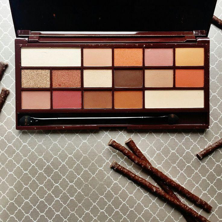 Makeup Revolution Chocolate Orange Swatches