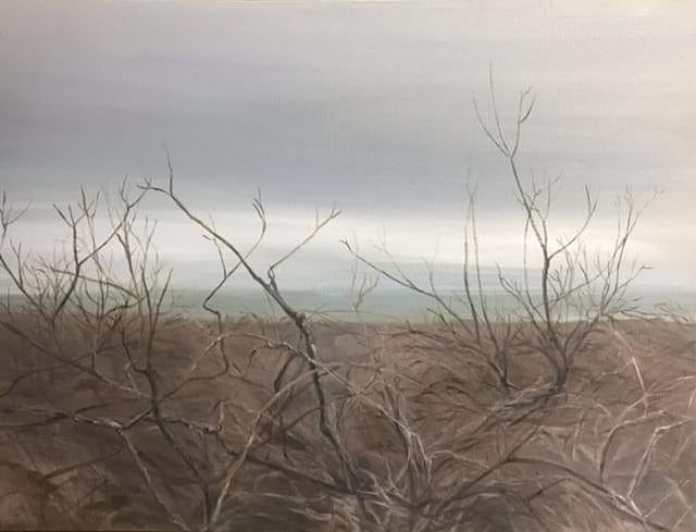 Image result for barren landscape painting