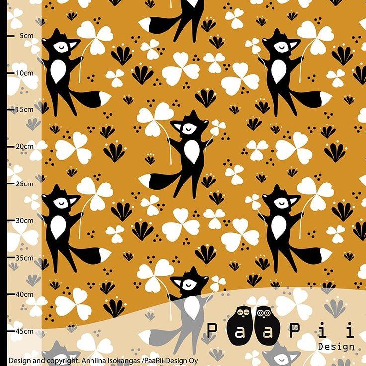 Clover Fox - Organic Jersey - Ochre