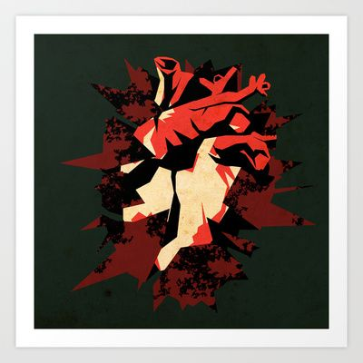 Love05 Art Print by Daniele Vittadello - $19.00