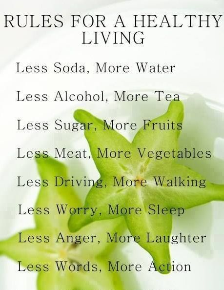 Some simp rules for healthy living! ♡purasentials.com ♡ essential oils with love