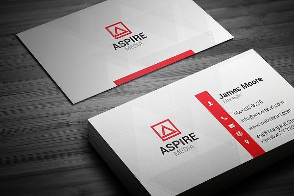 Simple Business Card By Arslan On Creativemarket Business Cards