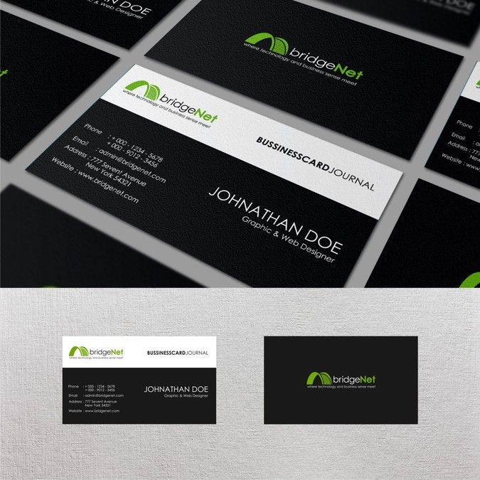information technology business cards