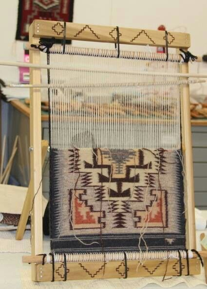 46 Best Images About Navajo Weaving Examples On Pinterest
