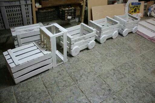 Trenzinho de caixote