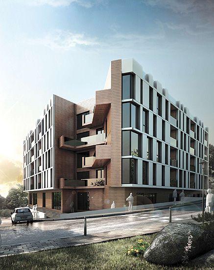 Сградата е ситуирана в най-новия жилищен квартал на град Варна и представлява сграда със смесено предназначение с преобладаваща жилищна площ. Проектирана е с два с ...