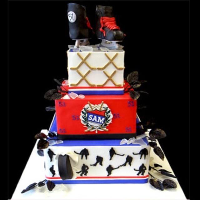 Ice Hockey Cake Ideas