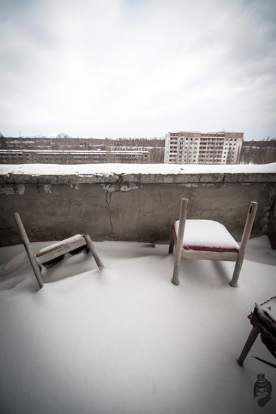 Chernobyl Ukraine Exclusion Zone Photography by P & Co