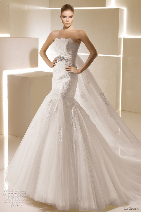 La Sposa Wedding Dresses 2012 Glamour Bridal Collection