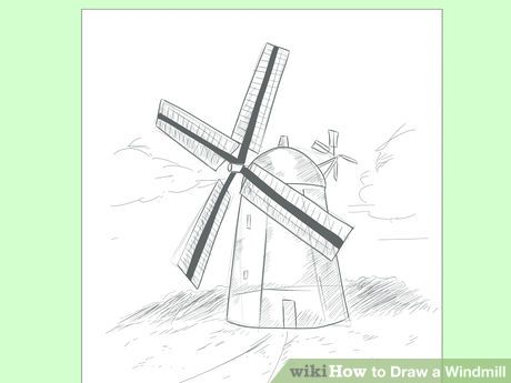 image titled draw a windmill step 8
