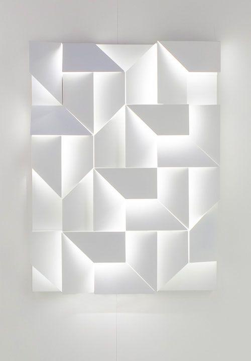 Wall Shadows by Charles Kalpakian for Omikron Design