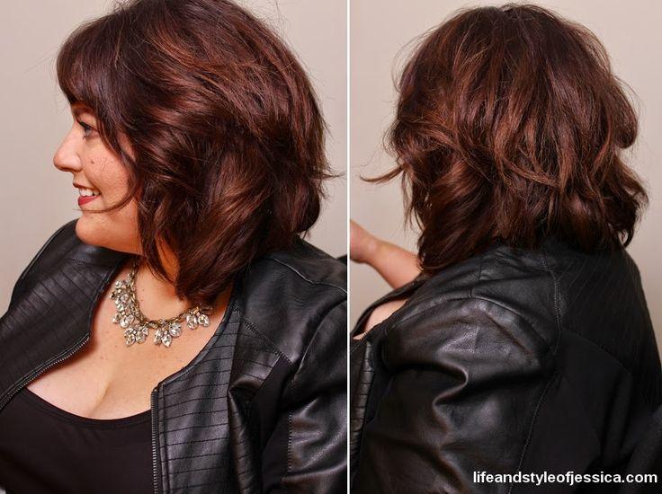 Perfect long bob #lob #layeredbob - Size 28 plus size fashion blogger Jessica Kane.