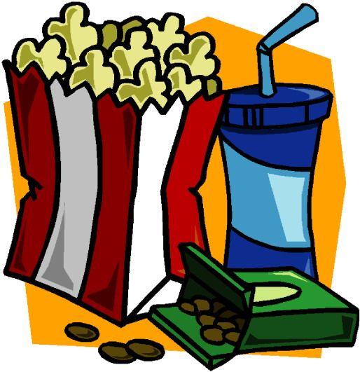 Du pop-corn et des bonbons pour la traditionnelle séance du mercredi au cinéma, jour de sortie des films dans les salles obscures françaises.