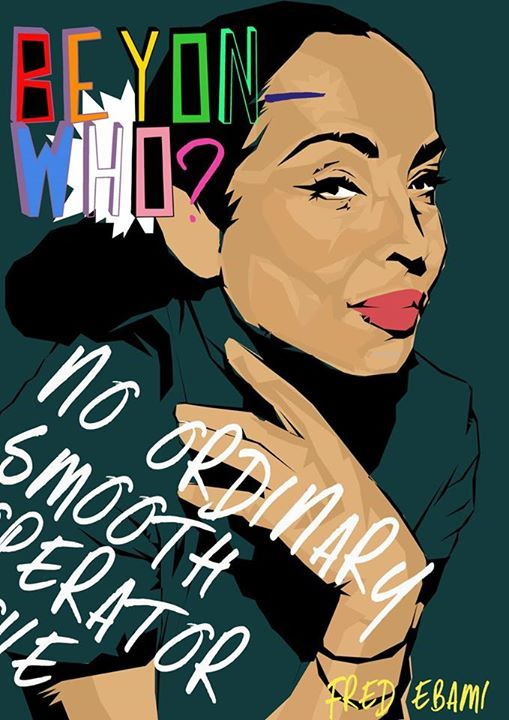 a drawing by Fred Ebami. so glad to share this, especially because the artist is my cousin first, but also beacause the Model is Helen Folosade Adu, the woman I respect the most in music!, and he has talent! #Drawers