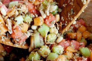 Burmese Gin Thoke Melon Salad / Jennifer May, courtesy of Clarkson Potter