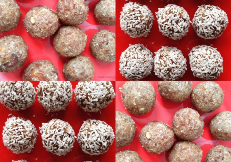 Energy Balls (crues et vegan)
