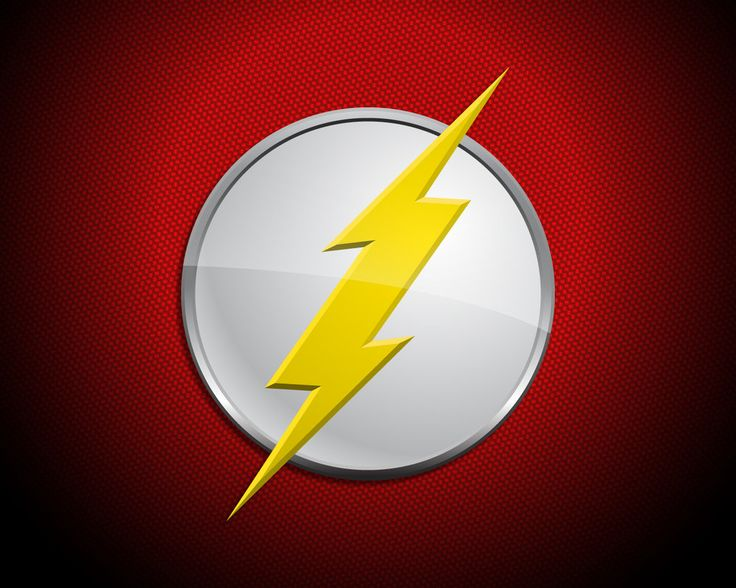 kid flash logo wallpaper