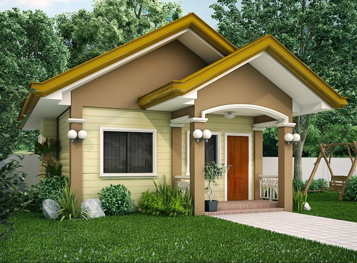 Small House Design SHD 20120001 | Pinoy EPlans   Modern House .
