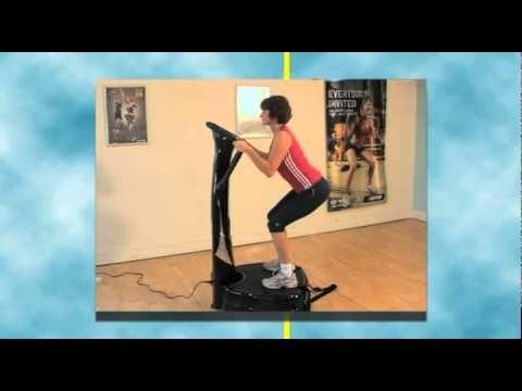 Ejercicios Plataforma Vibratoria - YouTube